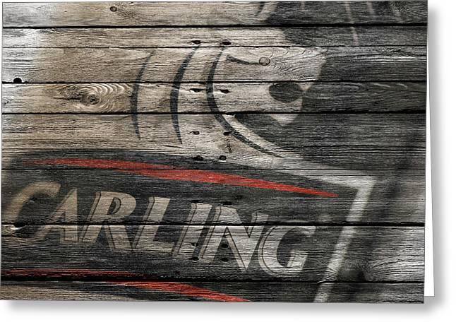 Saloons Greeting Cards - Carling Greeting Card by Joe Hamilton