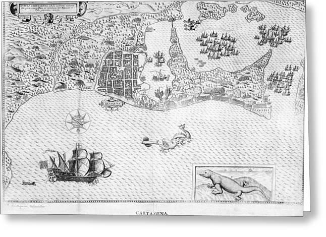Cartagena Greeting Card by British Library
