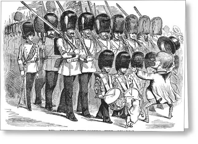 Cartoon Crimean War, 1856 Greeting Card by Granger