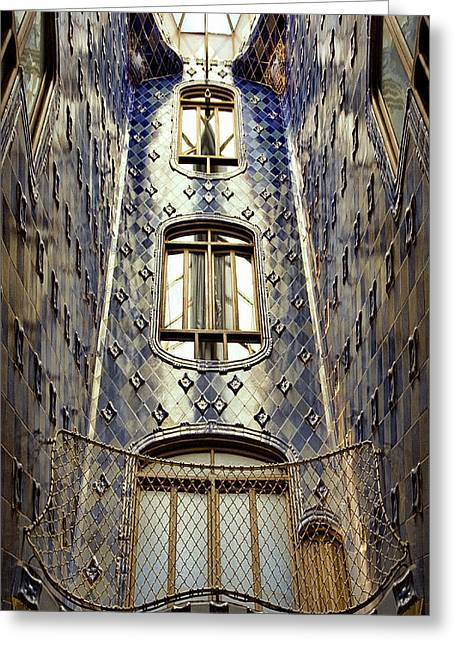 Casa Batllo Greeting Card by Joanna Madloch