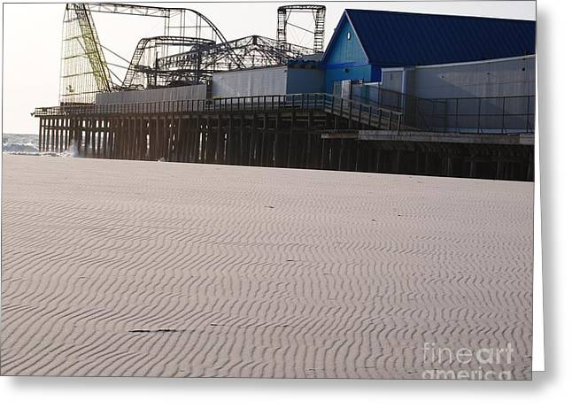 Casino Pier Greeting Cards - Casino Pier Greeting Card by Daniel Diaz