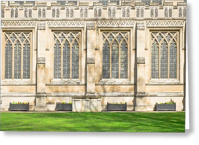 Locations Greeting Cards - Cathedral architecture Greeting Card by Tom Gowanlock
