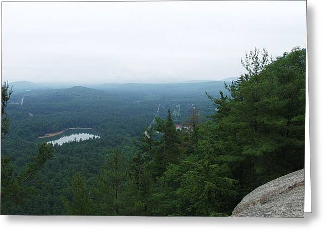 New Hampshire Greeting Cards - Cathedral Ledge  Greeting Card by Elizabeth Joslin