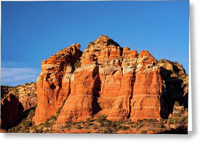 Cathedral Rock Greeting Card by Wladimir Bulgar
