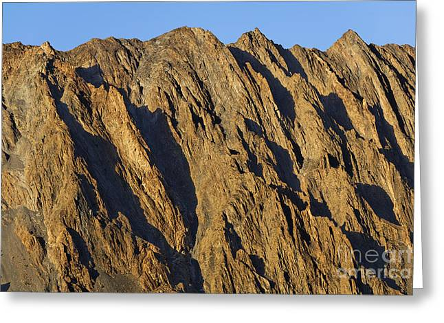 Cathedral Rock Greeting Cards - Cathedral Spires Mountain Peaks Greeting Card by Robert Preston