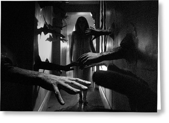 Catherine Photographs Greeting Cards - Catherine Deneuve in Repulsion  Greeting Card by Silver Screen