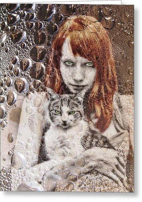 Cats Greeting Card by Joachim G Pinkawa
