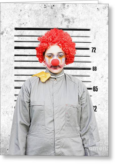 Imprisonment Greeting Cards - Caught In The Act Greeting Card by Ryan Jorgensen
