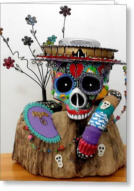 Celebrate..rejoice..remember Greeting Card by Keri Joy Colestock