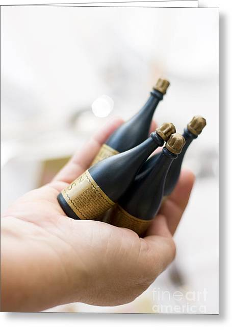 Graduation Party Greeting Cards - Celebration Champaign Bubbles Greeting Card by Ryan Jorgensen