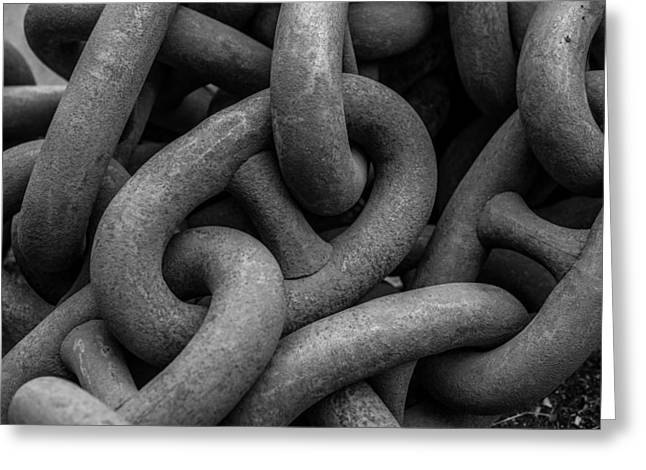 John Kennedy Greeting Cards - Chains Greeting Card by John Kennedy