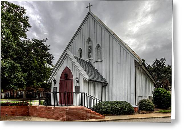 Recently Sold -  - The Church Greeting Cards - Chapel of the Centurion Greeting Card by Jerry Gammon