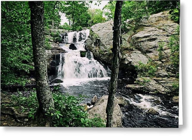 East Haddam Connecticut Greeting Cards - Chapman Falls Greeting Card by Mountain Dreams