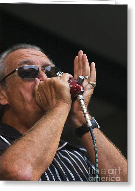 Craig Lovell Greeting Cards - Charlie Musselwhite Greeting Card by Craig Lovell