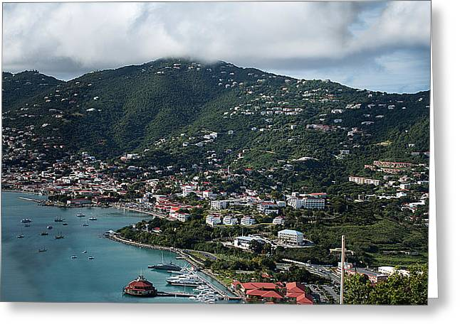 Charlotte Amalie Photographs Greeting Cards - Charlotte Amalie Greeting Card by Camille Lopez