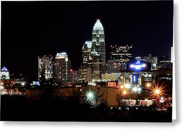 Charlotte Panoramic  Greeting Card by Frozen in Time Fine Art Photography