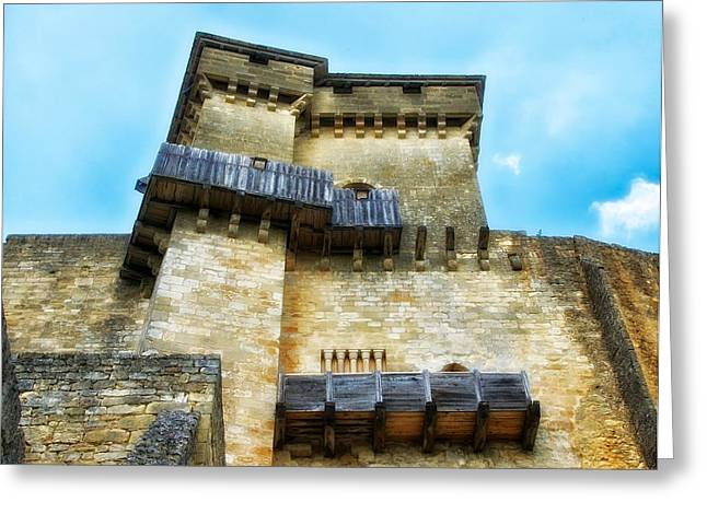 Chateau Greeting Cards - Chateau de Castelnaud Greeting Card by Mountain Dreams