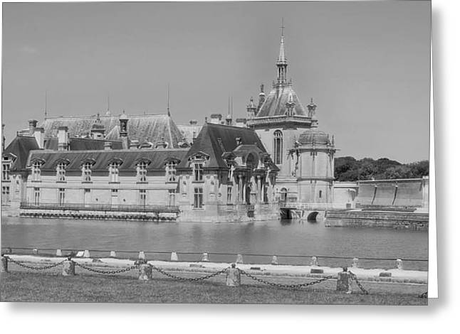 Chateau Greeting Cards - Chateau de Chantilly - France Greeting Card by Mountain Dreams