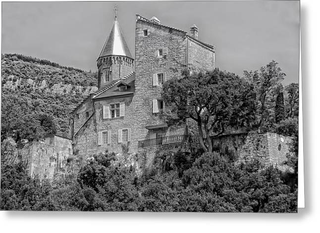 Chateau Greeting Cards - Chateau de Chatillon - France Greeting Card by Mountain Dreams
