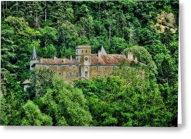 Chateau Greeting Cards - Chateau de Lucey Greeting Card by Mountain Dreams