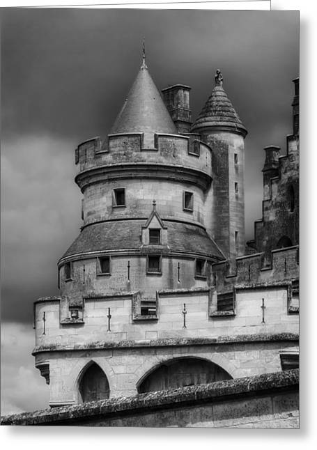 Chateau Greeting Cards - Chateau de Pierrefonds  Greeting Card by Mountain Dreams