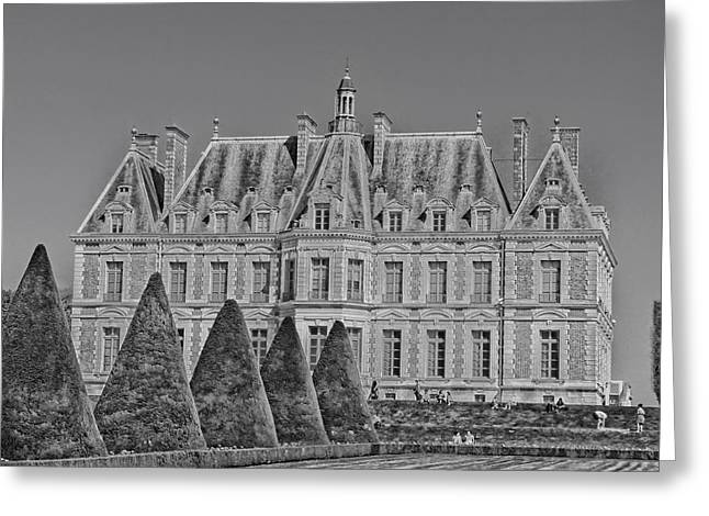 Chateau Greeting Cards - Chateau de Sceaux in France Greeting Card by Mountain Dreams