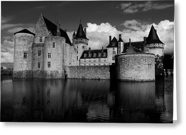 Sully Greeting Cards - Chateau de Sully in France Greeting Card by Mountain Dreams