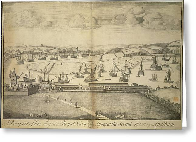 Chatham Greeting Card by British Library