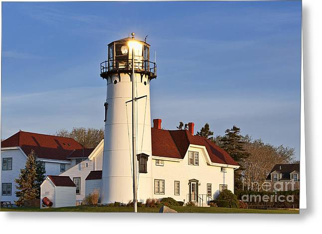 Chatham Greeting Cards - Chatham Lighthouse Greeting Card by John Greim