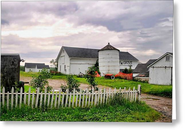 Working Farms Greeting Cards - Cherry Grove Farm Greeting Card by Diana Angstadt