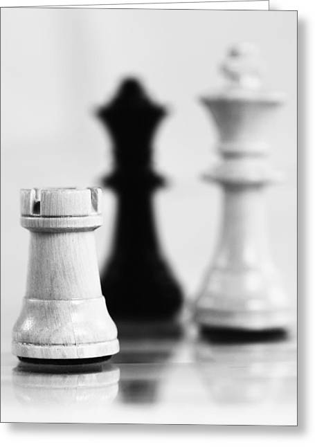 Chess Player Greeting Cards - Chess Greeting Card by Falko Follert