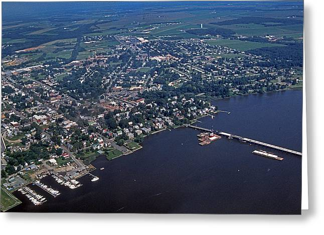 Scenic Photography Greeting Cards - Chestertown Maryland Greeting Card by Skip Willits