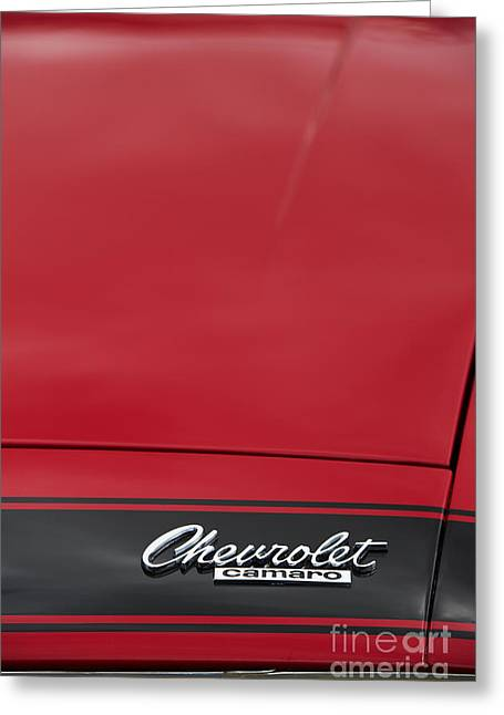 Chevrolet Camaro Greeting Card by Tim Gainey