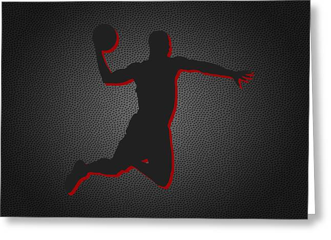 March Greeting Cards - Chicago Bulls Greeting Card by Joe Hamilton