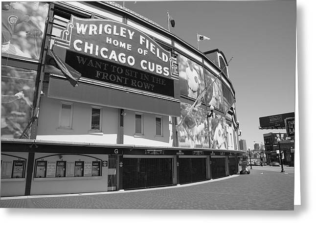 Chicago Cubs - Wrigley Field 17 Greeting Card by Frank Romeo