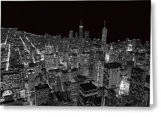 Chicago Greeting Card by Jeff Lewis