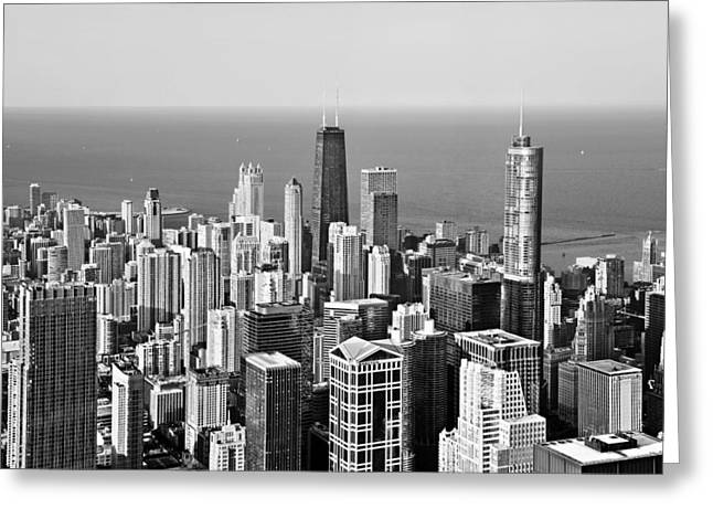First Class Greeting Cards - Chicago - That famous skyline Greeting Card by Christine Till
