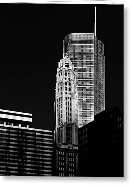 Interior Scene Greeting Cards - Chicago - Trump International Hotel and Tower Greeting Card by Christine Till