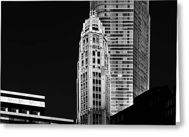 Chicago - Trump International Hotel and Tower Greeting Card by Christine Till