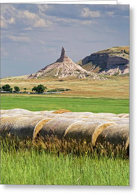 Chimney Rock Greeting Card by Jim West
