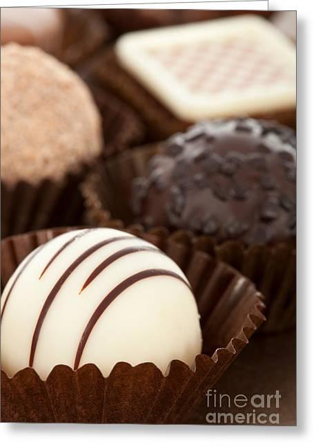Bonbon Greeting Cards - Chocolate Truffles Greeting Card by Jose Elias - Sofia Pereira