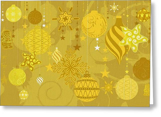 Christmas Card Ideas Greeting Cards - Christmas Decor Greeting Card by Victor Gladkiy