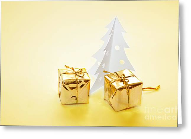 Christmas Decorations Greeting Card by Michal Bednarek