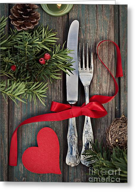 Mythja Photographs Greeting Cards - Christmas ornaments Greeting Card by Mythja  Photography