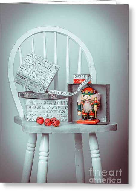 Nutcrackers Greeting Cards - Christmas Presents Greeting Card by Amanda And Christopher Elwell