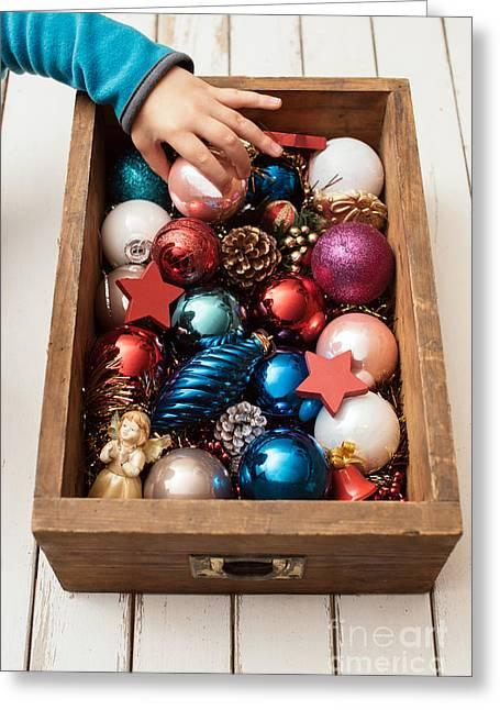 Christmas Star Greeting Cards - Christmas time Greeting Card by Viktor Pravdica
