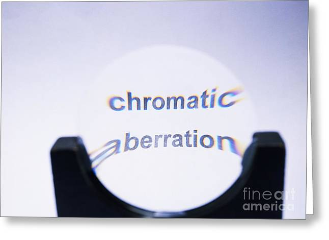 Chromatic Greeting Cards - Chromatic Aberration Greeting Card by Andrew Lambert Photography