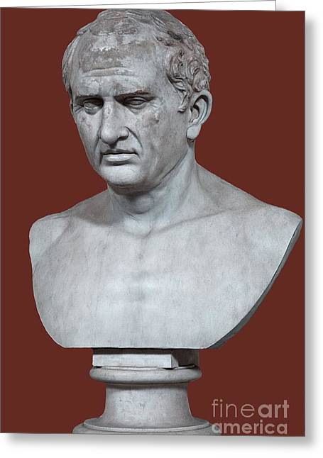 Orator Greeting Cards - Cicero Greeting Card by Sheila Terry