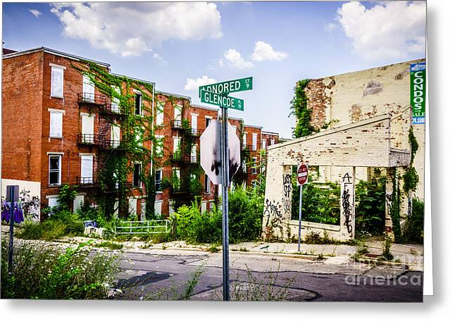 Conditions Photographs Greeting Cards - Cincinnati Glencoe-Auburn Place Picture Greeting Card by Paul Velgos
