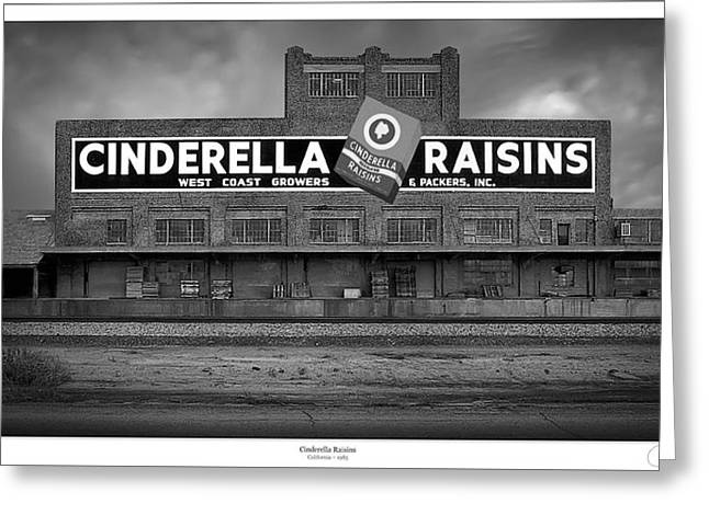 Selma Greeting Cards - Cinderella Raisins Greeting Card by Lar Matre